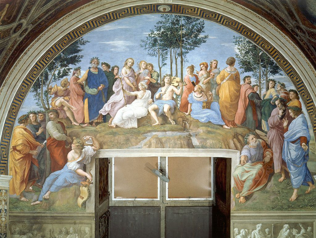 Where is the school of athens by raphael located in 2018